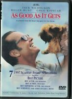 DVD AS GOOD AS IT GETS JACK NICHOLSON USED