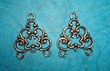 Jewelry Findings Chandelier Connectors Bracelet Lot of 2 Chandelier Earrings