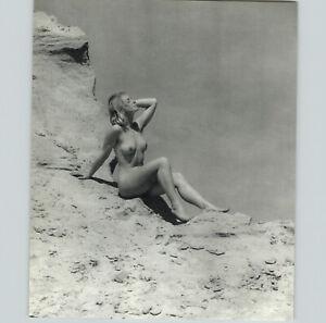 1960s 1973 Gerhard Vetter Blonde Female Nude Beach Dune Art Photogravure 16x20