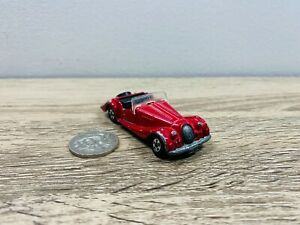 Tomica Tomy Morgan Plus 8 1:57 Made in Japan Diecast Car Red 1977
