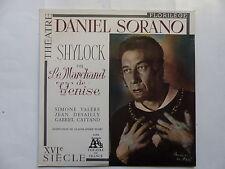 DANIEL SORANO Shylock ou Le marchand de Venise SIMONE VALERE JEAN DESAILLY 13034