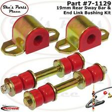 Prothane 7-1129 Rear 19mm Sway Bar & End Link Bushing Kit 82-02 Camaro/Firebird