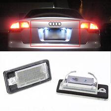 2x LED KENNZEICHENBELEUCHTUNG Audi A3 8P S3 A4 B6 B7 S4 A5 A6 4F Q7 TÜV FREI