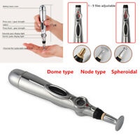 Therapy Electric Acupuncture Pen Meridian Energy Heal Massage Pain Relief 9Grade