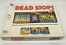 Dead Stop ! Board Game Milton Bradley 1979 Complete Vintage