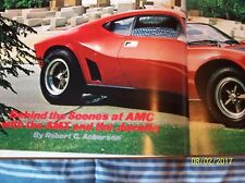 *AMX=AMC=JAVELIN=SPIRIT COLLECTIBLE great  HARDBACK BOOK 62 PAGES AMC 43 PICS