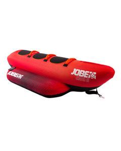 Jobe Chaser Towable 3 person RED Inflatable Banana Speedboat **UK JOBE DEALER**