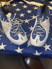 Nike Air Penny II 2 College Blue 13 White Hardaway Basketball Shoes 333886-400
