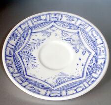 """Gien Oiseau Bleu Tea Saucer 6"""" Made in France New"""