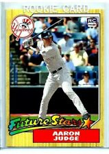 "2017 Aaron Judge #99 Retro RC 1987 Topps ""Future Stars"" Rookie New York Yankees"
