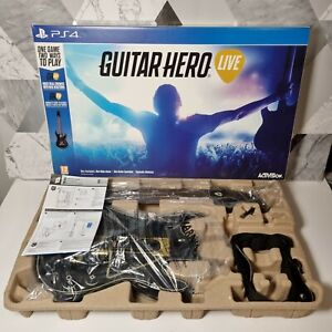 Guitar Hero Live PS4 - Guitar and Dongle with Box and Instructions
