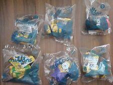 McDonalds Minions 2015 Toy lot #1 3 9 10 11 12  Canada Sealed New