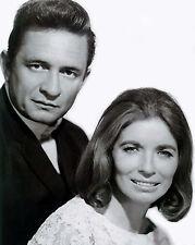 Johnny Cash & June Carter - 8x10 Black & White Photo