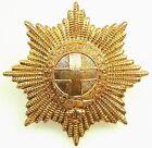 Guardias Coldstream Boina Insignia Para Gorra Británico Militar Latón Base Metal
