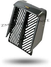 NEW YAMAHA BANSHEE YFZ 350 PLASTIC BLACK CARBON FIBER RADIATOR COVER PLASTICS