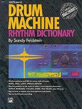 USED (GD) Roland Drum Machine Rhythm Dictionary by Sandy Feldstein