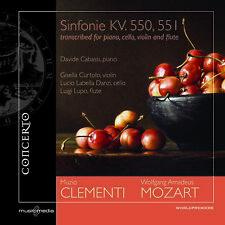 W.A. MOZART - Sinfonie n.40 KV. 550, n.41 KV. 551 trascritte da MUZIO CLEMENTI