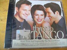THEREE TO TANGO O.S.T. CD SIGILLATO  BRIAN SETZER ORCH DR JOHN DUNCAN SHEIK