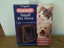 Stay well Small Pet Door 730 Brown