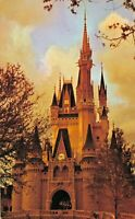 Walt Disney Cinderella Castle Fantasyland Magic Kingdom Vintage Postcard 1.01