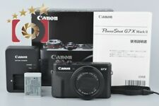 Near Mint!! Canon PowerShot G7 X Mark II 20.1MP Digital Camera