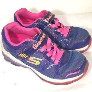 Girls Skechers Shoes size 13.5 purple