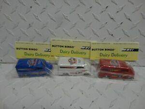 Hot Wheels 5th Annual Nationals Red/White & Blue Dairy Delivery's  Baggie Cars