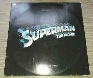 LP Superman the Movie Original Soundtrack-John Williams WEA 1976  VG+