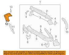 TOYOTA OEM 04-05 Celica Radiator Core Support-Radiator Seal 5373520101
