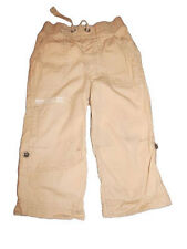 Early days creme cotton canvas trousers 18-24 months