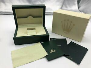 Genuine ROLEX Empty Watch Box Case 31.00.04 Booklet Tag Green 210208004 A278N
