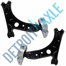 Both (2) Brand NEW Front Lower Control Arm w/ Bushing for VOLKSWAGEN Jetta AUDI