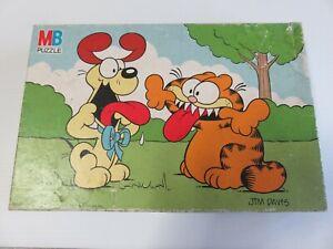 Retro Vintage Garfield Jigsaw Puzzle Complete 60 Piece