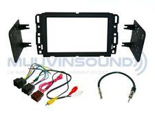 Radio Stereo Installation Dash Kit Combo 2DIN + Wire Harness + Antenna GM30