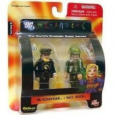 DC Direct Universe MiniMates 6 Sgt. Rock & Blackhawk Mini Figure 2pk Toys