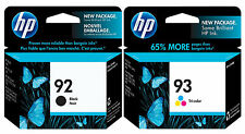 GENUINE NEW HP 92/93 (C9362WN/C9361WN) Ink Cartridge 2-Pack