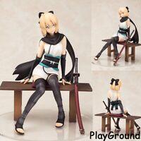 Anime Fate Grand Order Sakura Saber Okita Souji 1/8 Resting Swordsmen Figuren