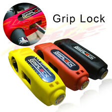 Universal Motorcycle Grip Brake Lever Handlebar Anti Theft Security Disc Lock
