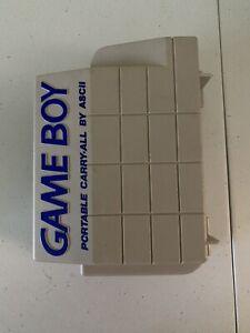 ASCII Original Nintendo Game Boy Portable Carry-All Hard Shell Travel Case Good