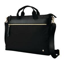 Samsonite Women's   Mobile Solutions Convertible Slim Briefcase Black Size OSFA