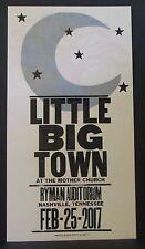 Hatch Show Print Little Big Town Ryman Nashville Concert February 25, 2017 Rare