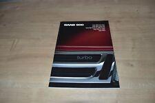 Catalogue Saab 900 de 1988 HOLLANDE