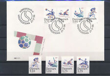 LM81535 Denmark 1996 disabled people sports FDC used