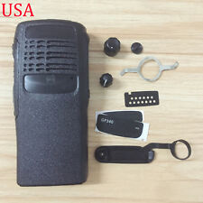 New Black Replacement Front Housing Case Cover for Motorola GP340 Two Way Radio