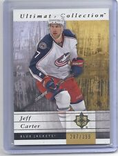 11-12 2011-12 ULTIMATE COLLECTION JEFF CARTER BASE CARD /399 19 BLUE JACKETS