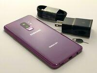 Samsung Galaxy S9+ G965U Purple 64 T-Mobile Sprint AT&T Verizon Carrier Unlocked