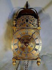 """Fine 18c Lantern Clock Somerset Maker """"Pitt Of Frome"""""""