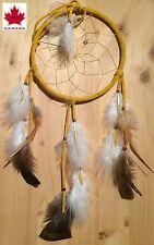 Capteur de rêves (diamètre 16,5cm ) AMERINDIEN HURON 5 Nations Canada.