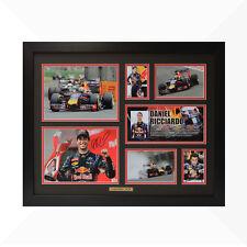 Daniel Ricciardo Signed & Framed Memorabilia - Black/Red - Limited Edition