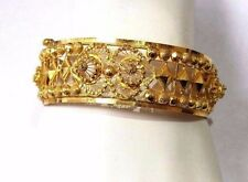 AMAZING, 22K YELLOW GOLD FILLIGREE BRACELET